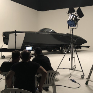 Backstage Shooting Frauscher